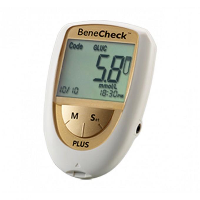 Benecheck Gold Plus analizor glicemie, colesterol si acid uric