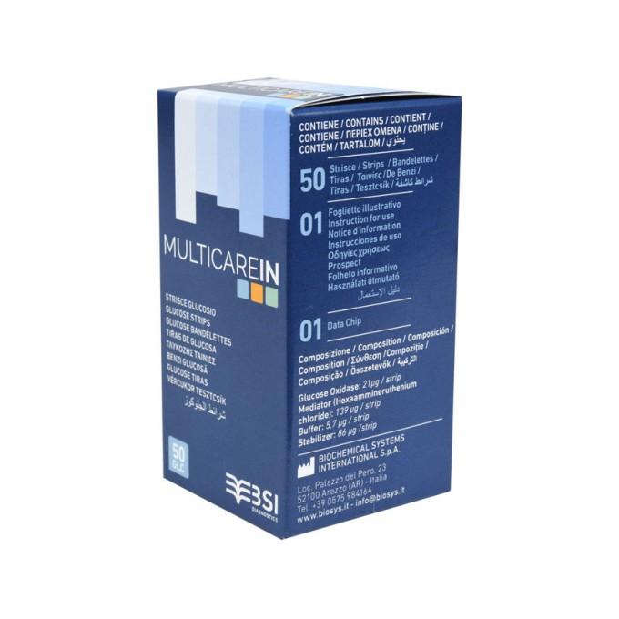 Teste Glicemie MULTICARE In
