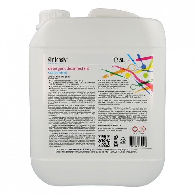 Klintensiv gel dezinfectant maini 5l