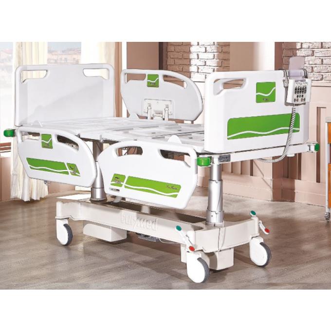 Pat spital electric cu 2 motoare pe coloana TM 4053