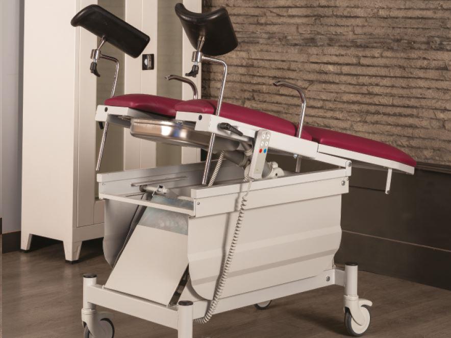 Scaun consultatii ginecologice cu 3 motoare TM 1020
