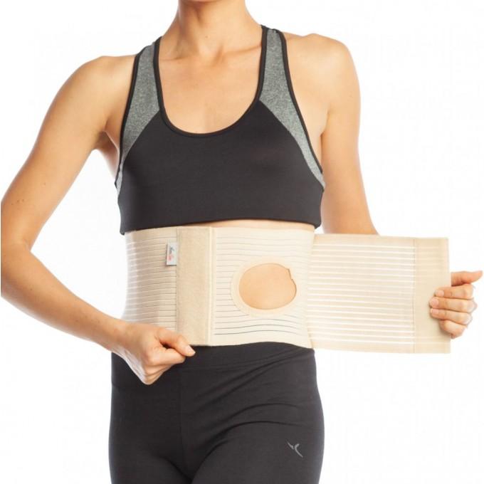 Orteza abdominala cu deschidere pentru colostomie h 16cm