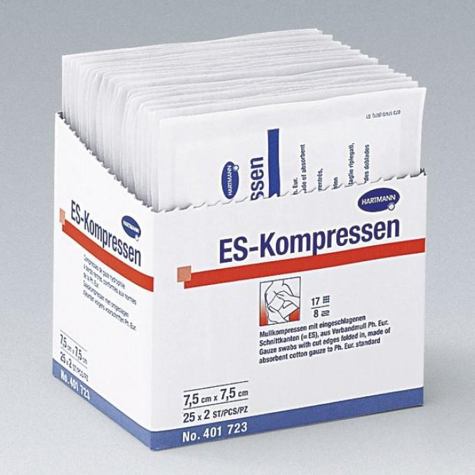 Comprese din bumbac ES-Kompressen sterile