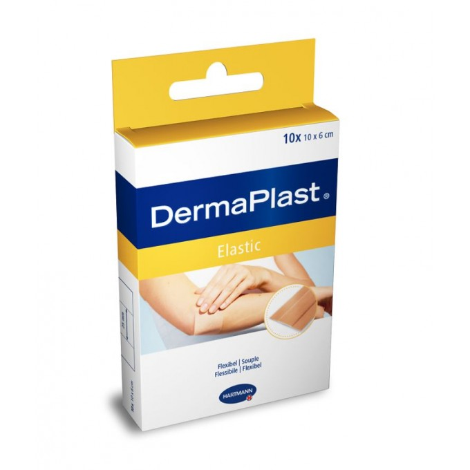 Plasturi Adezivi DermaPlast Textile Elastic