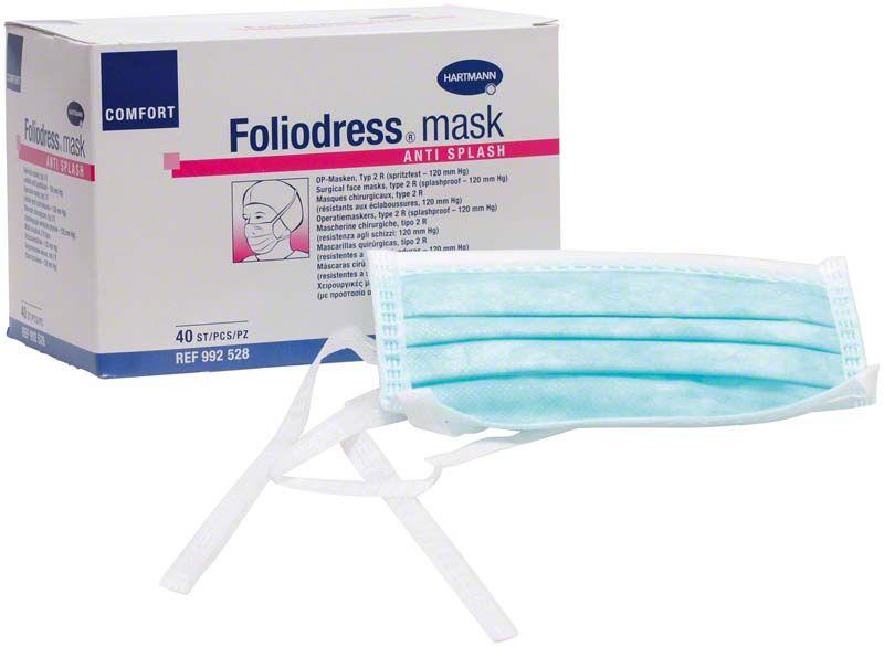 Masti de protectie Foliodress Mask Comfort Anti Splash + viziera