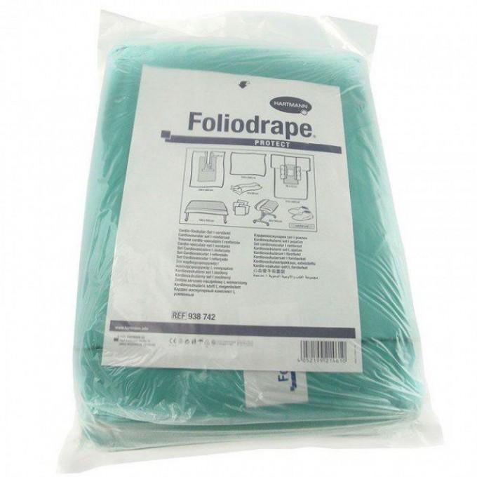 Foliodrape combiset cardiovascular