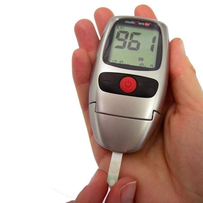 Pachet Analizor Multicare In + Teste glicemie, colesterol si trigliceride