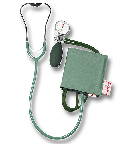 Tensiometru cu stetoscop Erkatest